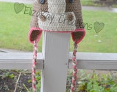 Horse Hat - Crochet Horse Hat - Girls Hat - Customizable