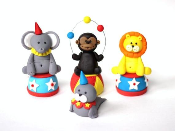 Circus Birthday Party Edible Cake Decorations | Birthday Wikii
