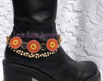 Everlasting Sunshine Boot Jewelry , Boot Bracelet, Boot Bling, Boot Jewelry, Cowgirl Boot Bling, Boot Band Bracelet