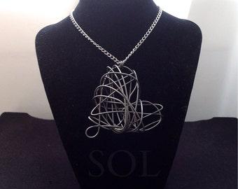 Wire Heart Necklace  |DIEmonds|