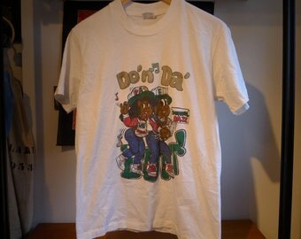 "Vintage EXPERIENCE UNLIMITED ""Do'n Da' Butt!"" Shirt - Stedman tag 100% Cotton Made In USA - vtg go-go music washington dc"