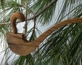 Oak Pipe Tree Ornament