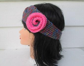 Turban Headband Hand Knit headband head wrap earwarmer Womens Headband Head Wrap Winter Headbands Knit ear warmer crochet headband earwarmer