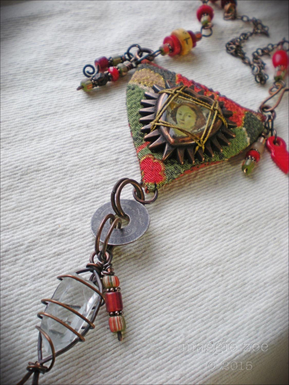 Amulet Jewelry Pendants Sothon: Binding Spell Protective Amulet Necklace