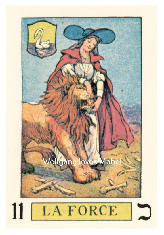 La Force Strength Knapp-Hall French Tarot By