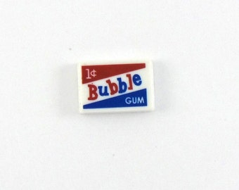 Bazooka Bubble Gum- Old Fashion Candy- Lapel Pin or Tie Tack