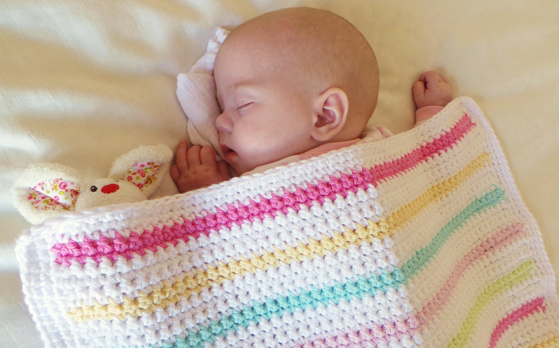 Beginners Crochet Blanket Pattern By Kjd Easy Baby Blanket