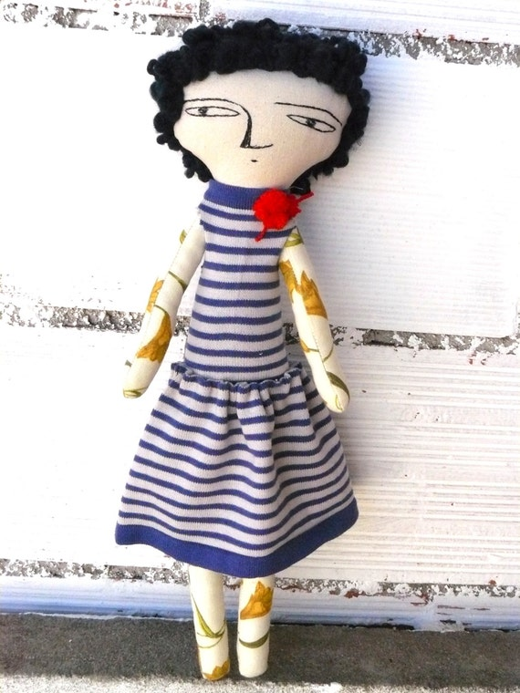 BIG SIZE Karine Special doll: 48 cm / art doll