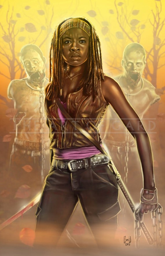 Michonne's Fury