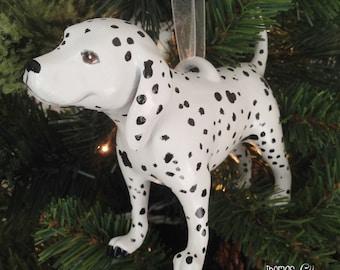 Dottie the Dalmatian (Standing) - Dalmatian Christmas Ornament - Dalmatian Holiday Ornament - Dalmatian Christmas Present