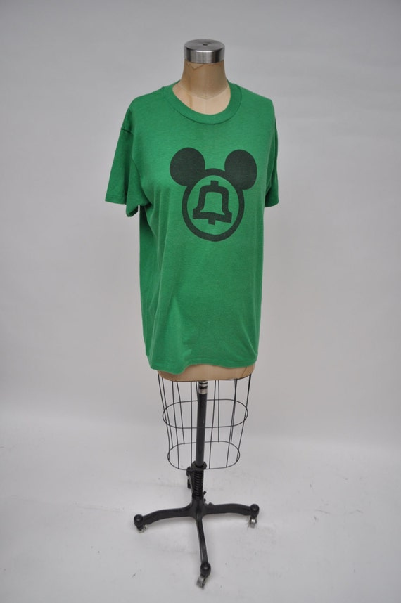 vintage tshirt ma bell at t mickey mouse 1970s t shirt