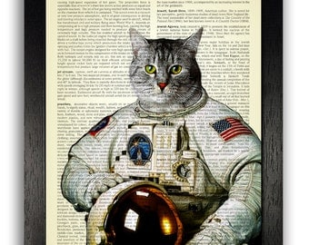 Cat in Astronaut Suit (page 2) - Pics about space