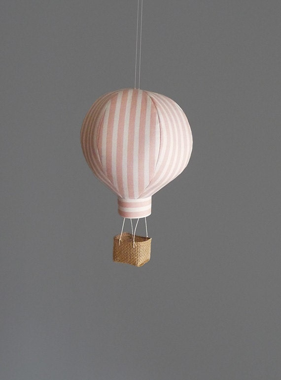 Single hot air balloon decoration nursery decor by aliceandpeter - Air deco ...