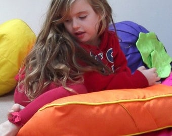 B E A N I E * S L A B *  floor beanbag square cushion ideal for kids playtime, picnics, beach parties, watching TV storytime. COVER ONLY