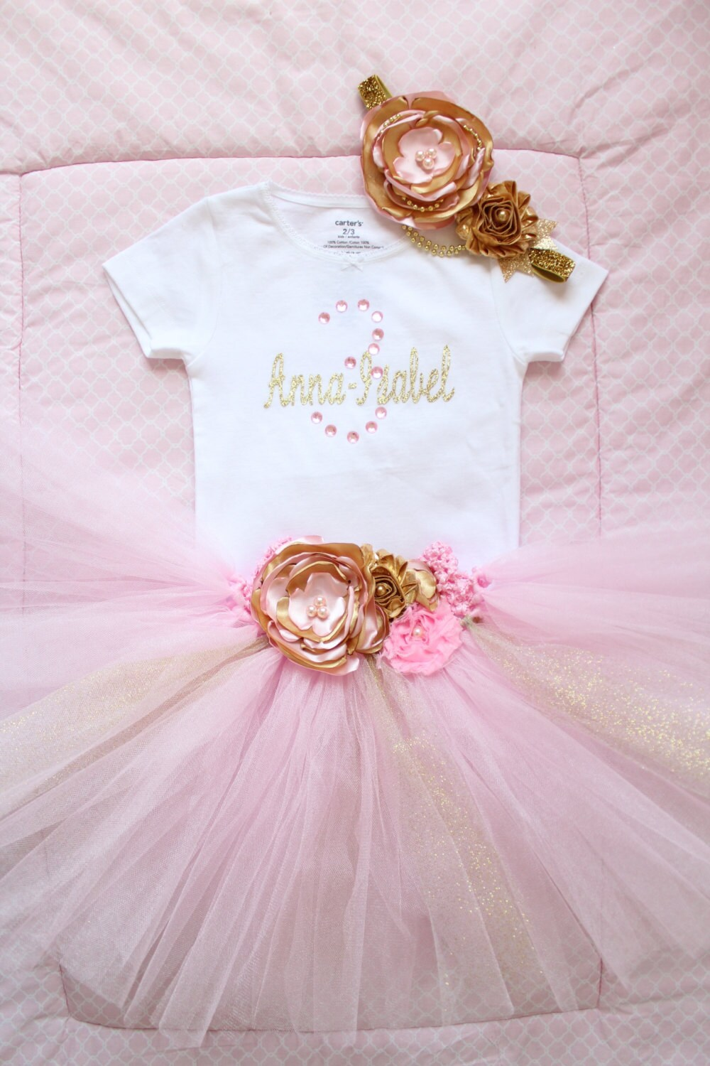 Gorgeous Light Pink Feather Tutu Dress for Baby Girl 618