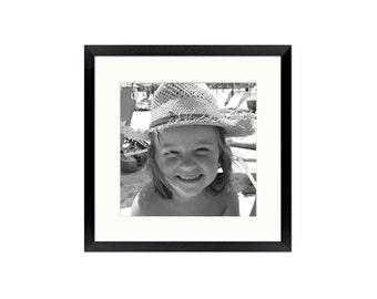 "8x8"" Instagram frame with your photo inside. We print & frame! (Instagram gift, frame 8x8, holiday gift, birthday gift, gift, travel frame)"