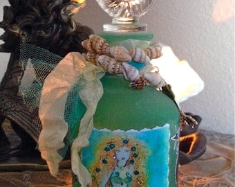 Mermaid Spell Bottle