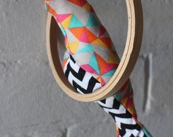 Hanging Bird Mobile. Nursery Bird Mobile. Fabric Bird Mobile. Nursery Decor. Embroidery Hoop Art. Bird Embroidery Hoop. Nursery Art. Animals