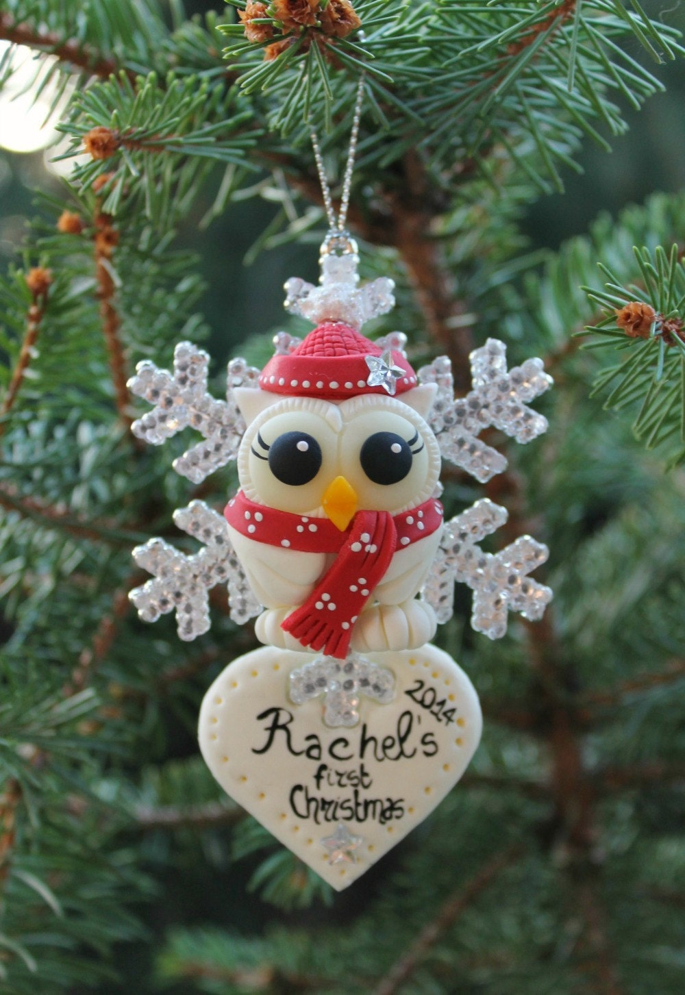 Baby 39 s first christmas ornament child holiday decor for Babys first christmas decoration