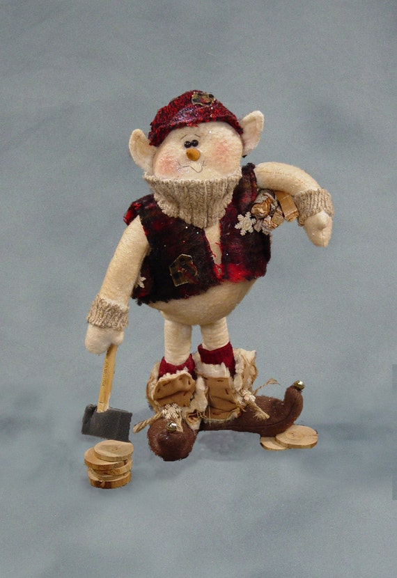 "Pattern: Sven Snelf - 12"" Snowman Elf"
