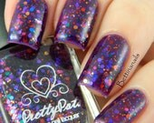 Awestruck by Prettypots Polish - Core Collection - 12ml Handmixed Glitter Aussie Indie Nail Polish Lacquer