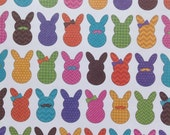 Supplies - 8.5 x 11 Pack of 5 Easter Pattern Bunnies Scrapbooking Paper by The Paper Studio, Scrapbooking Paper Pack