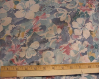 Floral Polished cotton