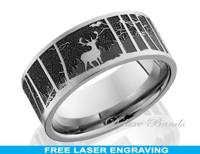 titanium wedding band ring 8mm anniversary band promise