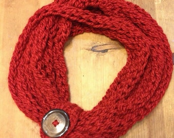 Crochet/hand knit Scarf