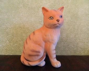 Orange Cat Figurine