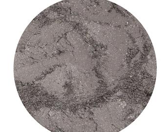 Smokey Silver Mineral Makeup Loose Eye Shadow