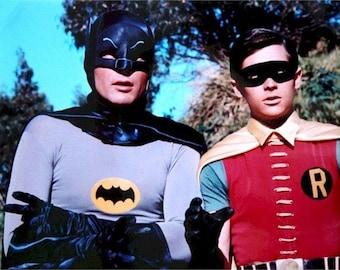 Batman and Robin Adam West Burt Ward  Rare Poster