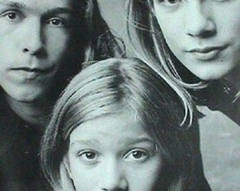 Hanson Band Early  Rare Vintage Poster