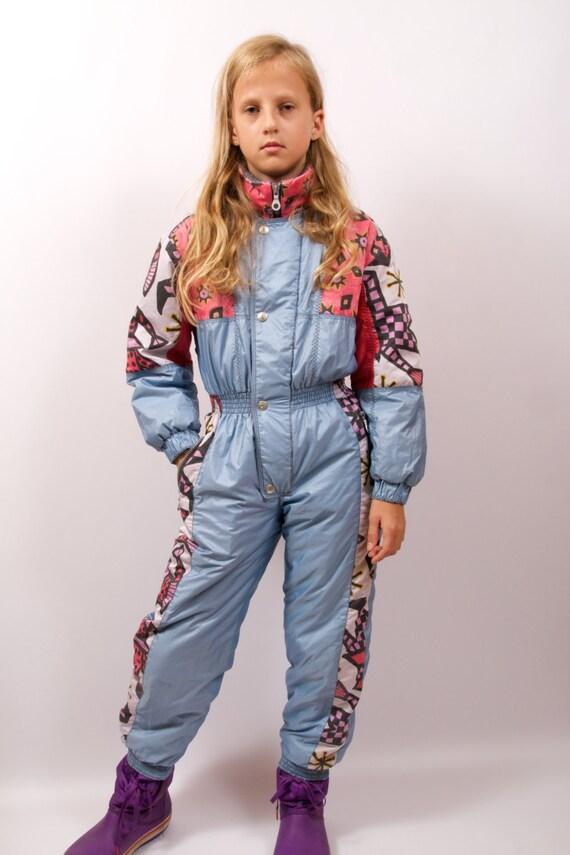 Ski anzug ein st ck hellen blauen skianzug hipster kinder - Hipster anzug ...