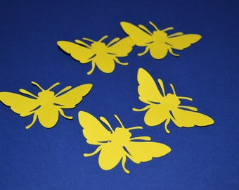 Yellow Bee Confetti/Bee Confetti/Bee Table Scatter/Bee/Table Scatter/Confetti