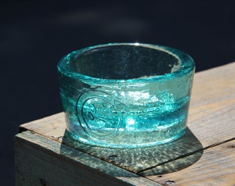 "PawNosh ""Cubby"" Recycled Glass Bowls for Dogs and Cats"