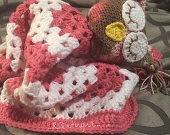 Hand Crochet Nap Time Blanket