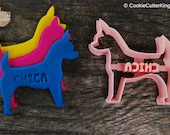 Custom Chihuahua Cookie Cutter Personalized for your Pet