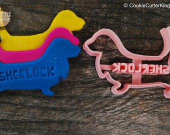 Custom Basset Hound Cookie Cutter Personalized for your Pet