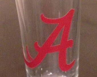Alabama Shot Glass
