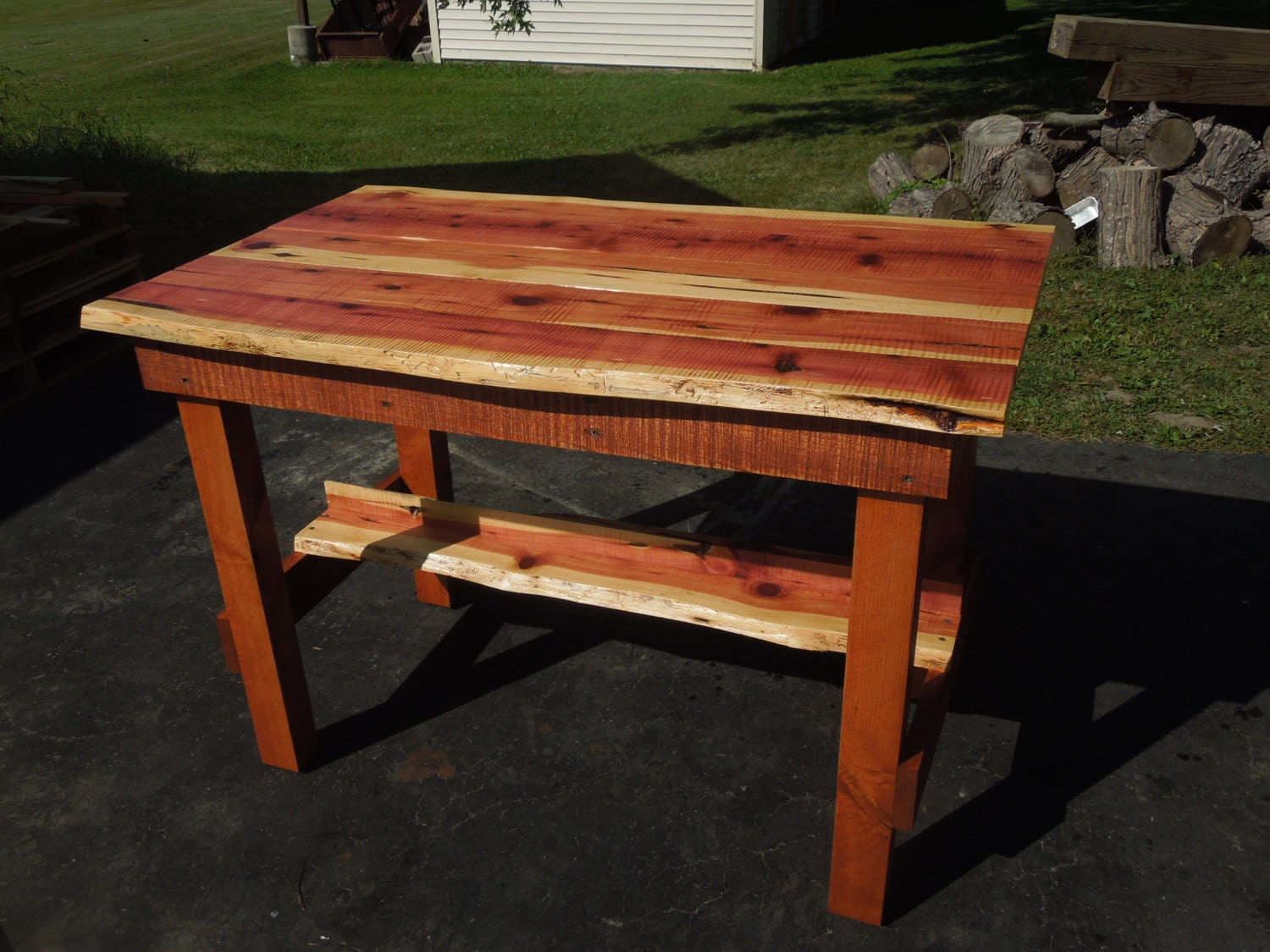 cedar and ash kitchen table