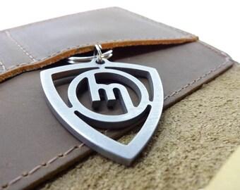 Stainless Steel Mazda Rotary Keychain, Stainless Steel Keychain, Mazda Rotary Engine, Old School, Gift Idea