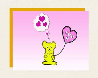 "Valentine's Day - ""Luv U"""