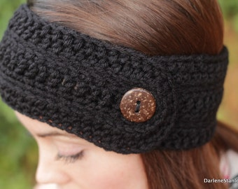 Free Crochet Patterns For Headbands With Button Closure : CROCHET HEADBAND BUTTONS CLOSURES ? Only New Crochet Patterns