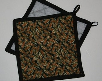 Corn Field Potholder FREE SHIPPING
