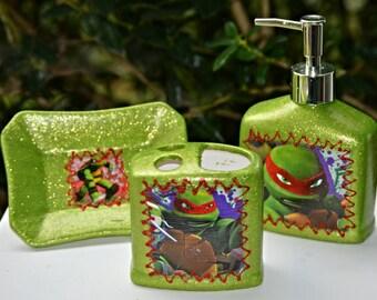 Popular Items For Ninja Turtle Towel On Etsy