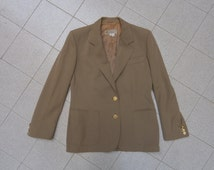 Gucci jacket coat vintage rare beige  tg42 100% wool, authentic