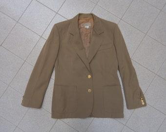 Gucci jacket coat vintage rare beige  tg42 100% wool, authentic