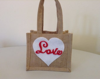 Loveheart Gift Bag