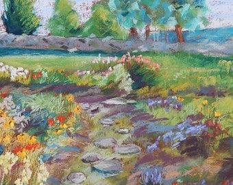 Flower Garden in Vermont